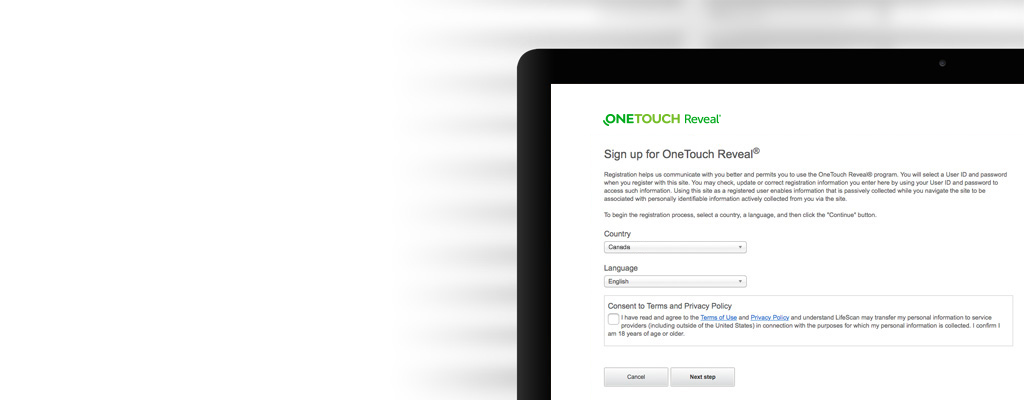 Getting started with your OneTouch Reveal® clinic account