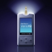 OneTouch Verio® IQ meter illuminated test strip port