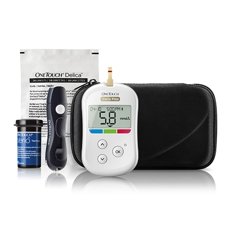 OneTouch Verio Flex® meter Travel Pack