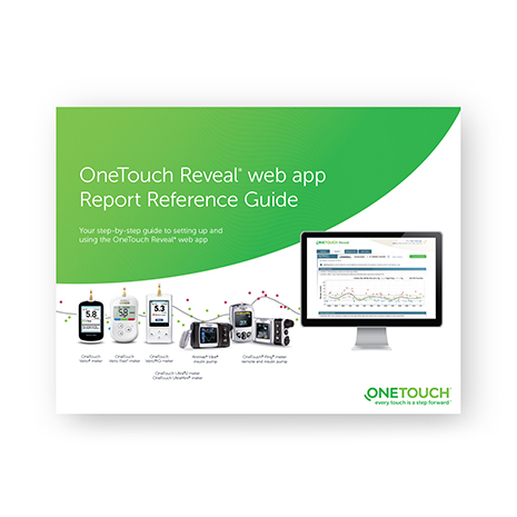 Get familiar with the OneTouch Reveal® web app reports